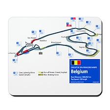 Formula 1 - Spa-Francorchamps Mousepad