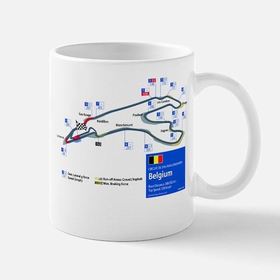 Formula 1 - Spa-Francorchamps Mug