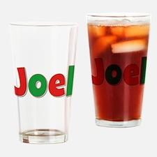 Joel Christmas Drinking Glass