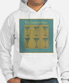 Martini Cocktail Hour Hoodie
