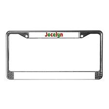 Jocelyn Christmas License Plate Frame