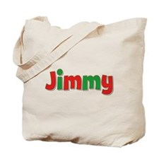 Jimmy Christmas Tote Bag