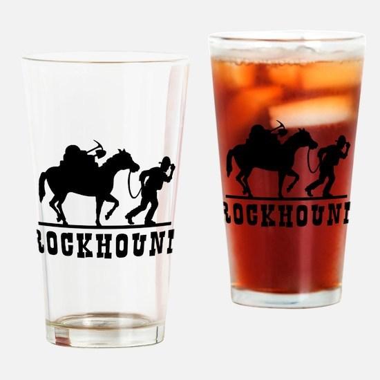 Rockhound Drinking Glass