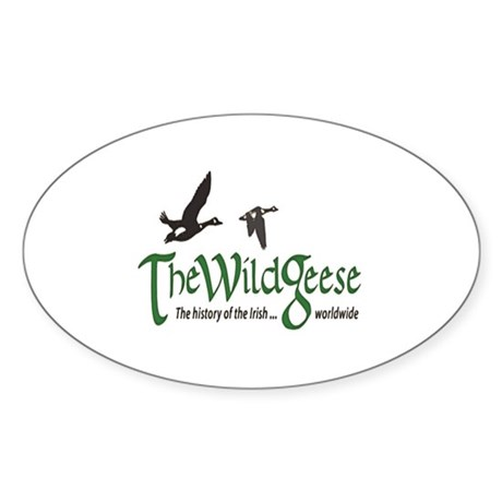 The Wild Geese Logo Sticker (Oval)