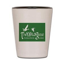 The Wild Geese Logo Shot Glass