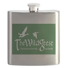 The Wild Geese Logo Flask