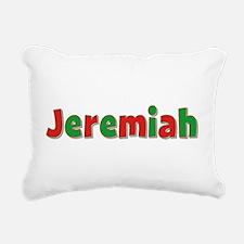 Jeremiah Christmas Rectangular Canvas Pillow