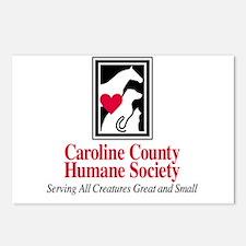 Caroline Co. Humane Soc. Postcards (Package of 8)