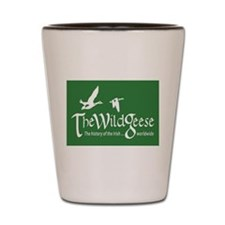 The Wild Geese Shot Glass