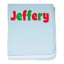 Jeffery Christmas baby blanket