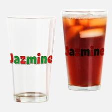 Jazmine Christmas Drinking Glass