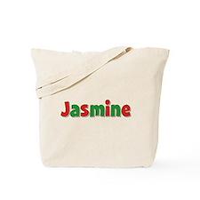 Jasmine Christmas Tote Bag