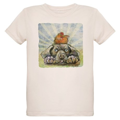 The Chicken and the Dog Organic Kids T-Shirt