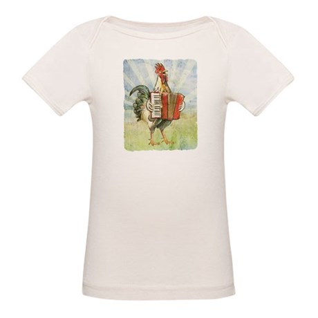 Accordion Chicken Organic Baby T-Shirt
