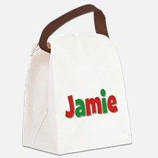 Jamie Christmas Canvas Lunch Bag