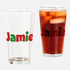 Jamie Christmas Drinking Glass