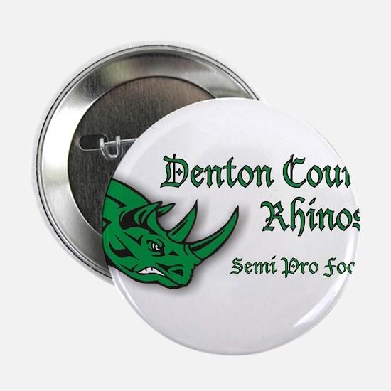"""Rhinos 2 2.25"""" Button"""
