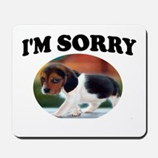 SORRY PUPPY Mousepad