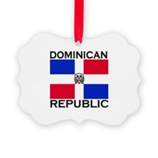 Cute Dominican republic Ornament
