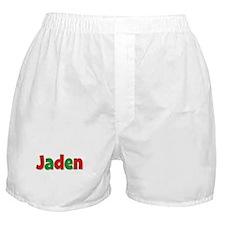 Jaden Christmas Boxer Shorts