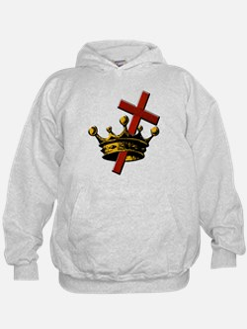 Cross and Crown Hoodie