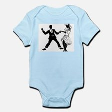 Swing Dancers Infant Bodysuit