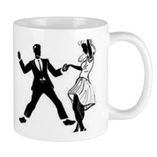 Swing Dancers Small Mug
