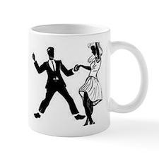 Swing Dancers Small Mugs