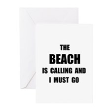 Beach Calling Greeting Cards (Pk of 20)