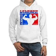 """I Voted Arnold "" Hoodie"