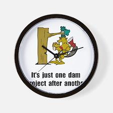 Beaver Dam Wall Clock