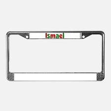Ismael Christmas License Plate Frame