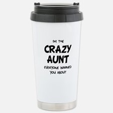 Crazy Aunt Travel Mug