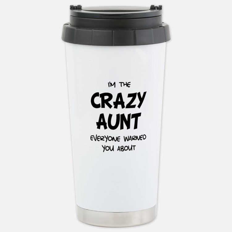 Crazy Aunt Travel Mug