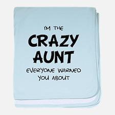 Crazy Aunt baby blanket
