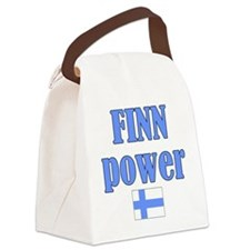 finnp.png Canvas Lunch Bag