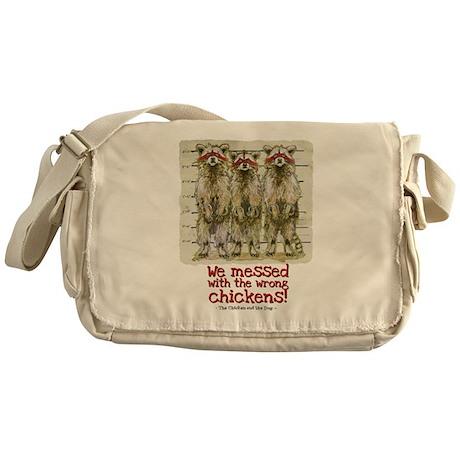 Raccoon Justice Messenger Bag