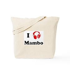Mambo music Tote Bag