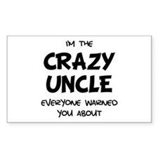 Crazy Uncle Decal