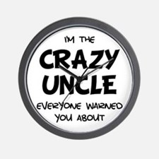 Crazy Uncle Wall Clock