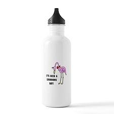 Flamingo Long Water Bottle