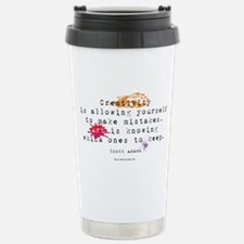 Artist and Creativitiy Stainless Steel Travel Mug