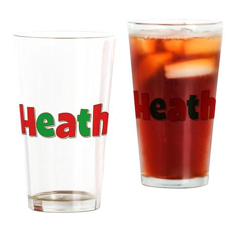 Heath Christmas Drinking Glass