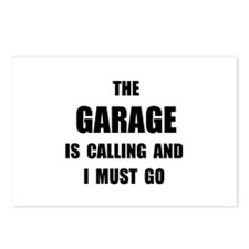 Garage Calling Postcards (Package of 8)