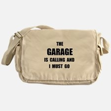Garage Calling Messenger Bag
