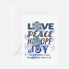 Gods Christmas Gift to you! Greeting Card