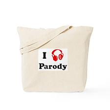 Parody music Tote Bag