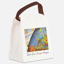 Live Love Laugh Imagine.jpg Canvas Lunch Bag