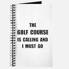 Golf Course Calling Journal