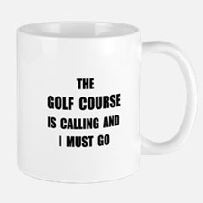 Golf Course Calling Mug